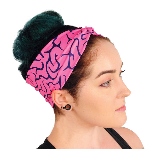 Brains Turban Headband