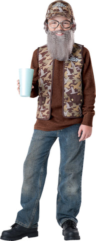 Boy's Uncle Si Costume - Duck Dynasty