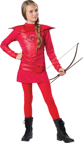 Warrior Huntress Red Costume