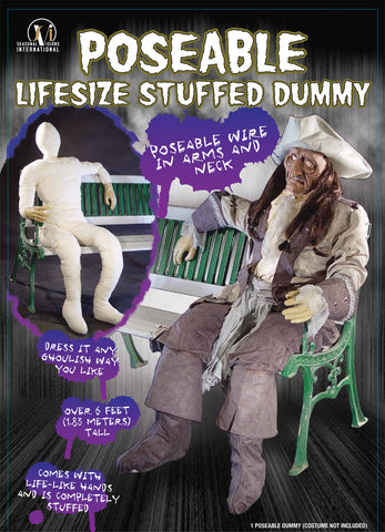 Dummy Poseable with Hands & Arms