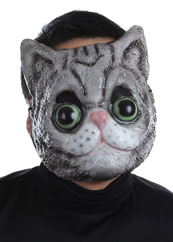 Cat Face Plastic Mask