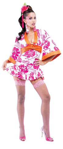 Women's Geisha French Kiss Costume