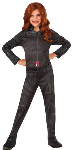 Girl's Black Widow Costume