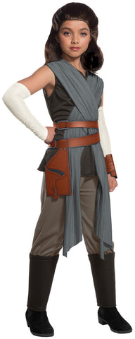 Girl's Deluxe Rey The Last Jedi Costume - Star Wars VIII
