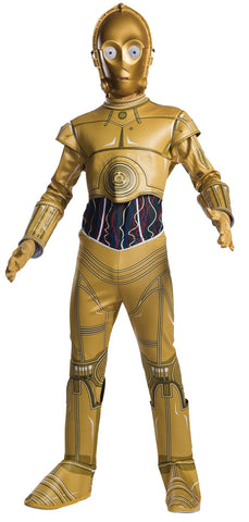 Boy's C-3PO Costume - Star Wars Classic