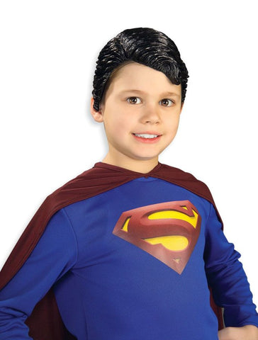 Boy's Superman Vinyl Wig