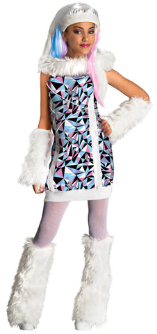 Girl's Abbey Bominable Costume - Monster High