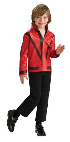 Boy's Red Thriller Michael Jackson Jacket