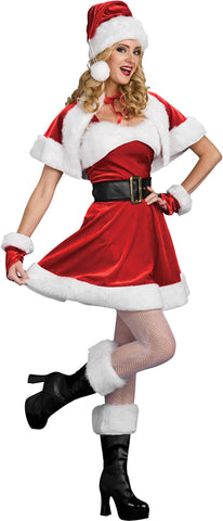 Women's Santa's Sassy Helper Costume
