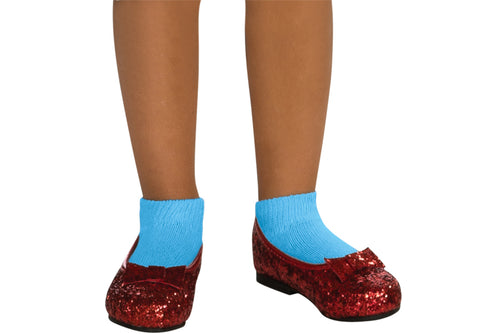 Girl's Deluxe Sequin Dorothy Shoes - Wizard of Oz