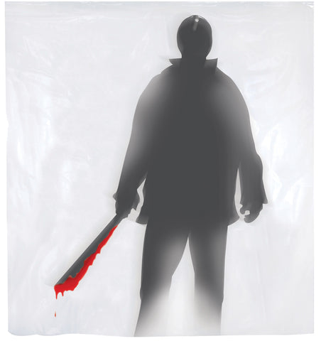 Shower Curtain Machete Killer