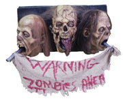 3-head-zombie-wall-plaque