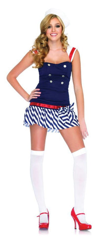 Women's Harbor Hottie Costume