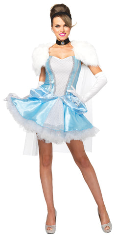 Women's Cinderella Slipperless Costume