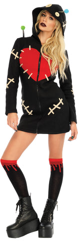 Women's Cozy Voodoo Doll Costume
