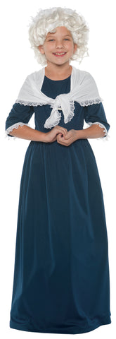 Girl's Martha Washington Costume