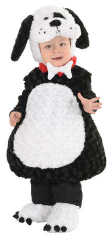 Black & White Puppy Costume