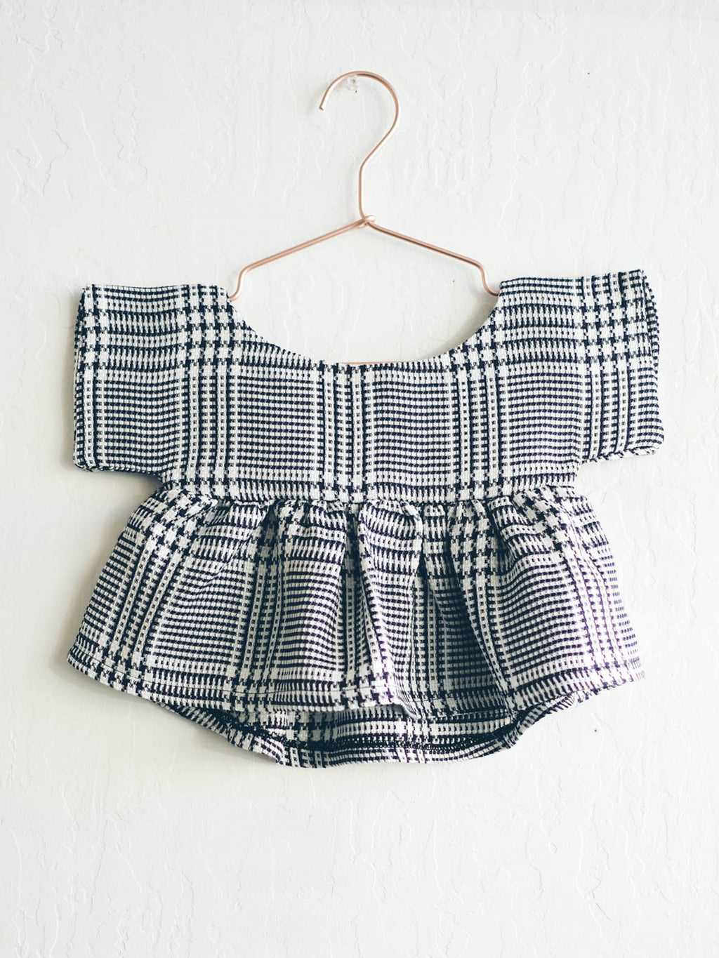 London Plaid Kimono Top