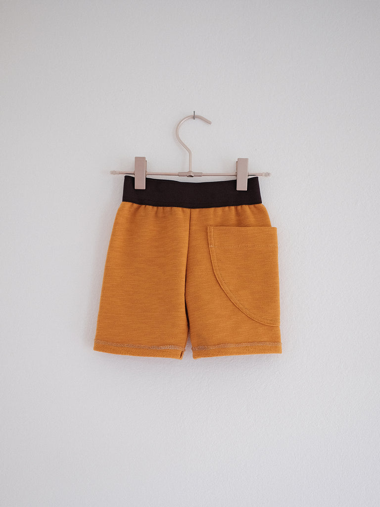 Full Pocket Shorts - Glowing Amber