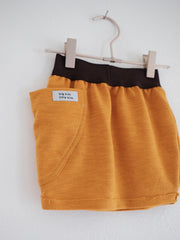 Full Pocket Bubble Skirt - Glowing Amber