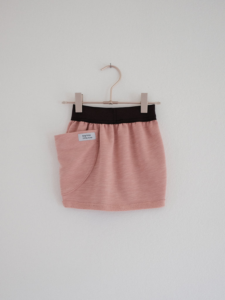 Full Pocket Bubble Skirt - Thistle