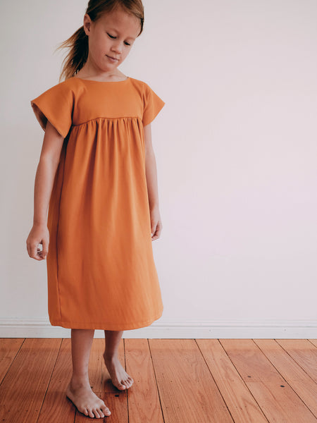 Holiday Dress - Glowing Amber