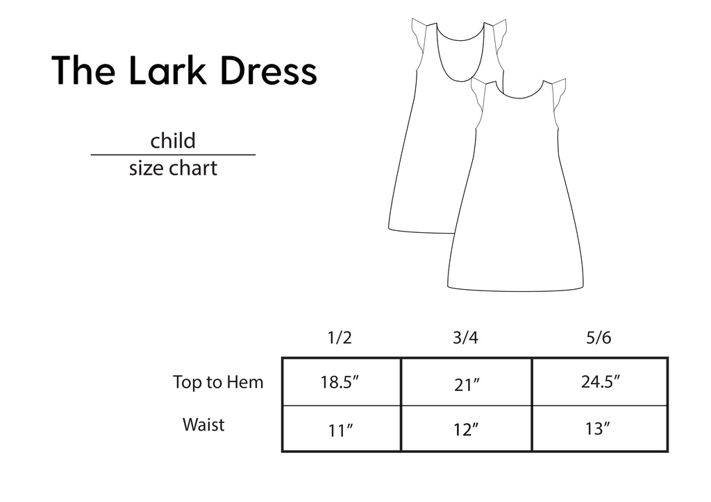 Lark Dress - Golden Garden