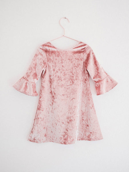 Mei Mei Dress - Pink Pearl