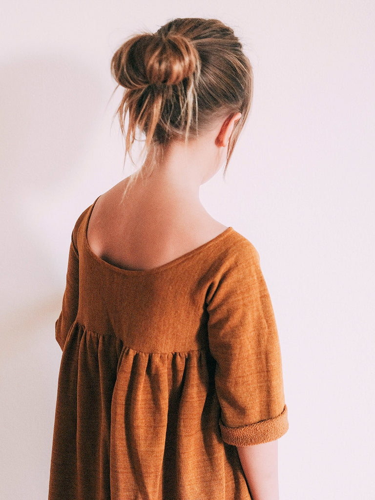 Pleasant Dress - Pumpkin