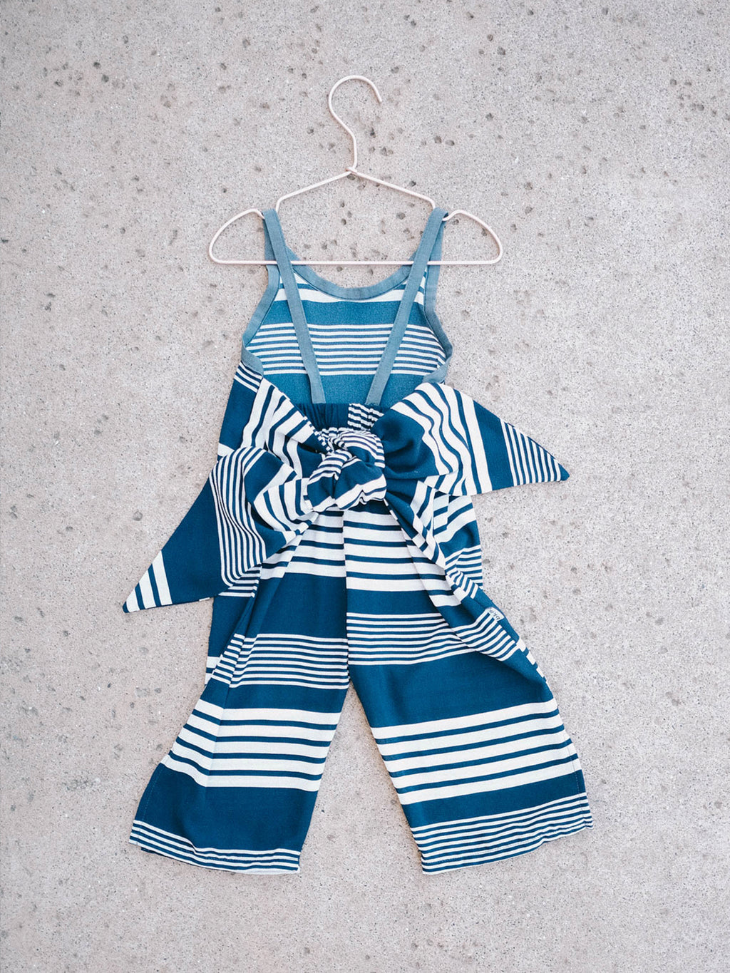 Wrapping Romper - Bold Stripe