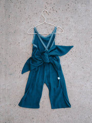 Wrapping Romper - Indigo Wave