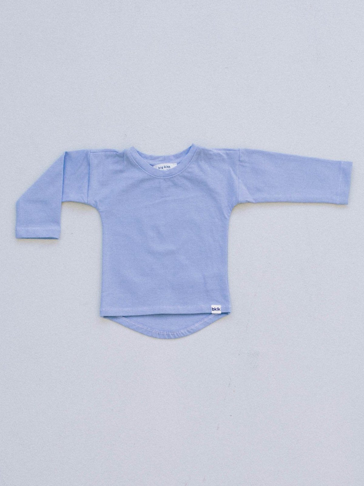 T - long sleeved, Bay Blue