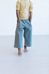 Puddle Jumper Pants - Denim Stripe