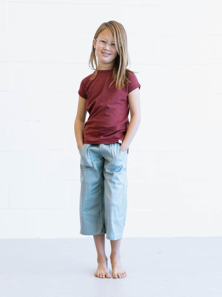 Puddle Jumper Pants - Aqua