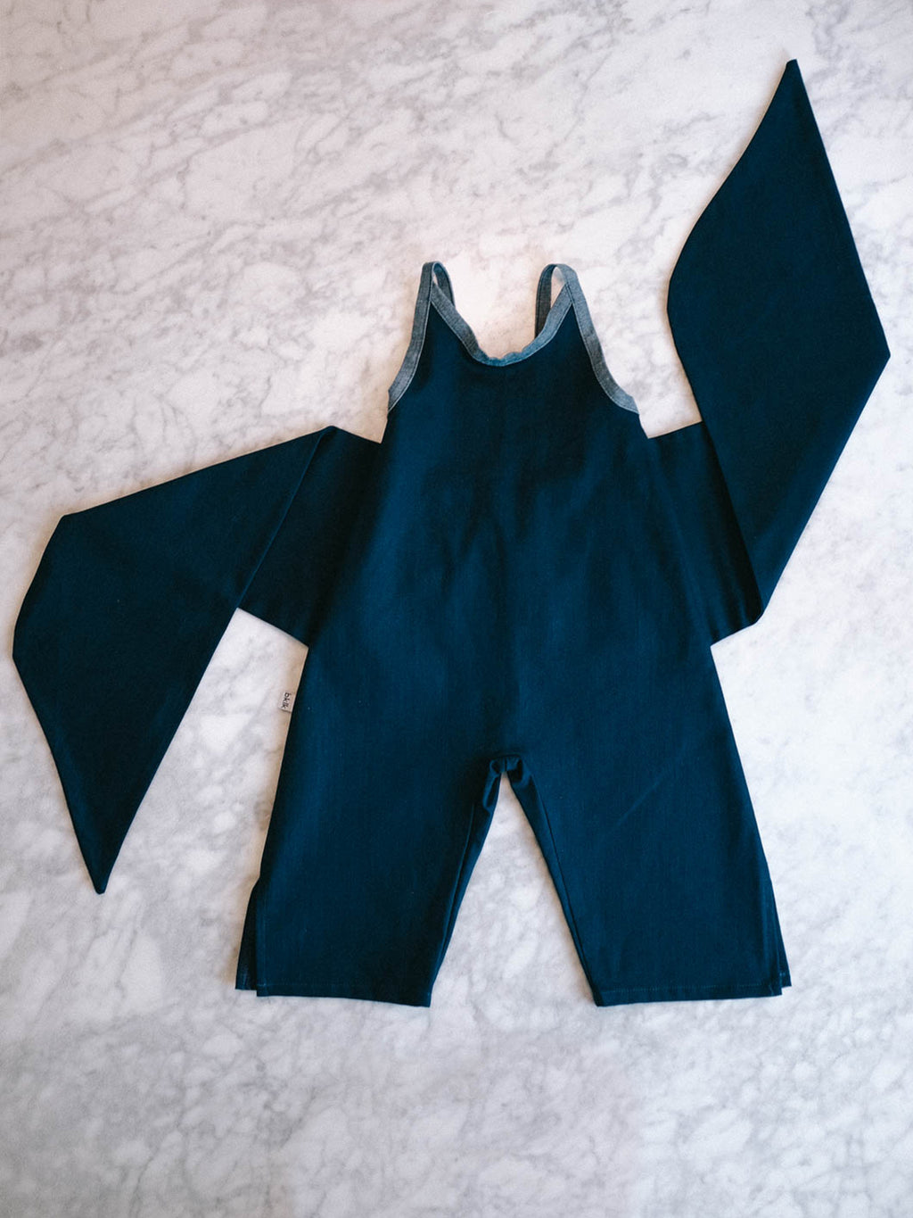 Wrapping Romper - Navy
