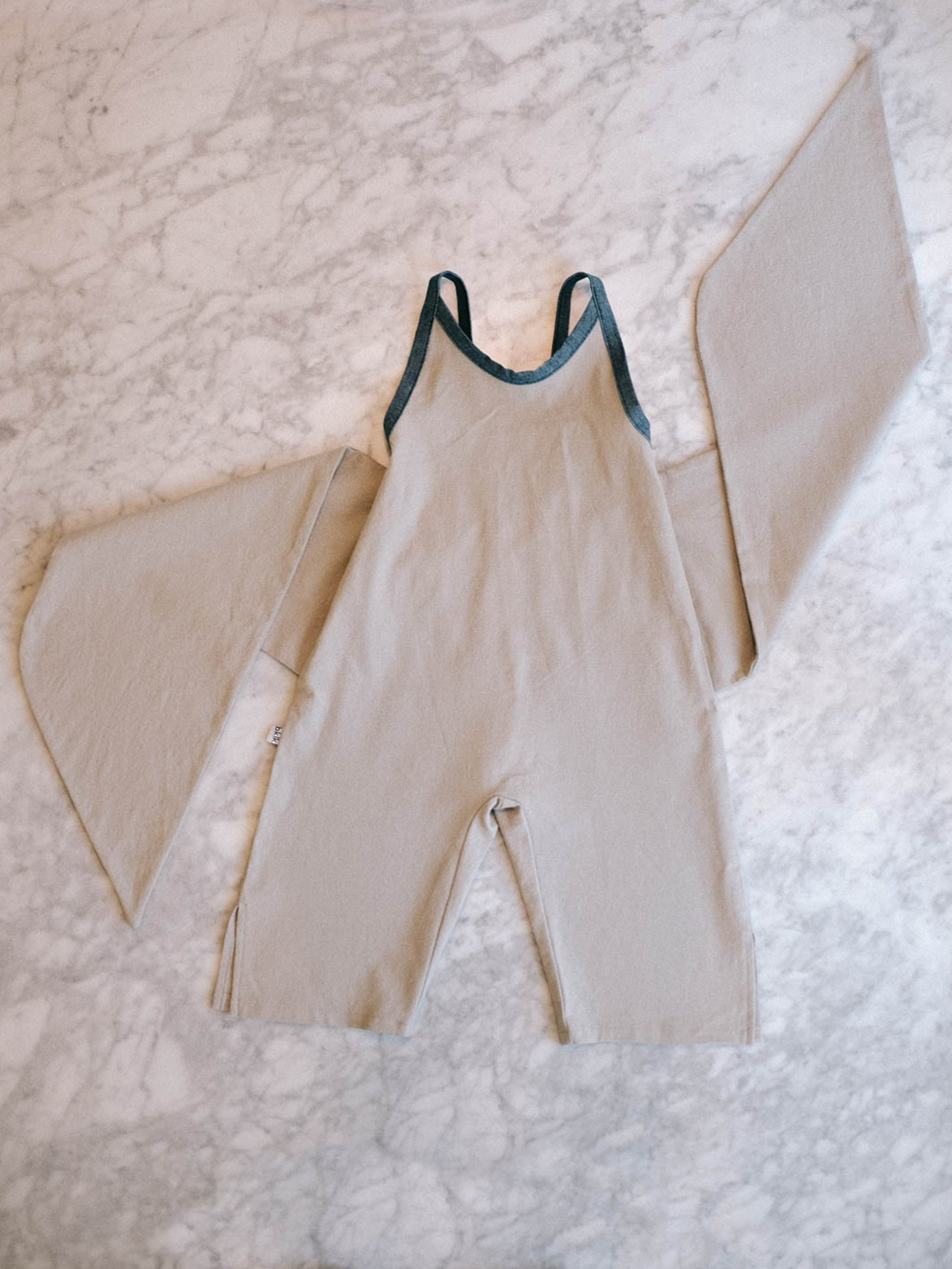 Wrapping Romper - Oat