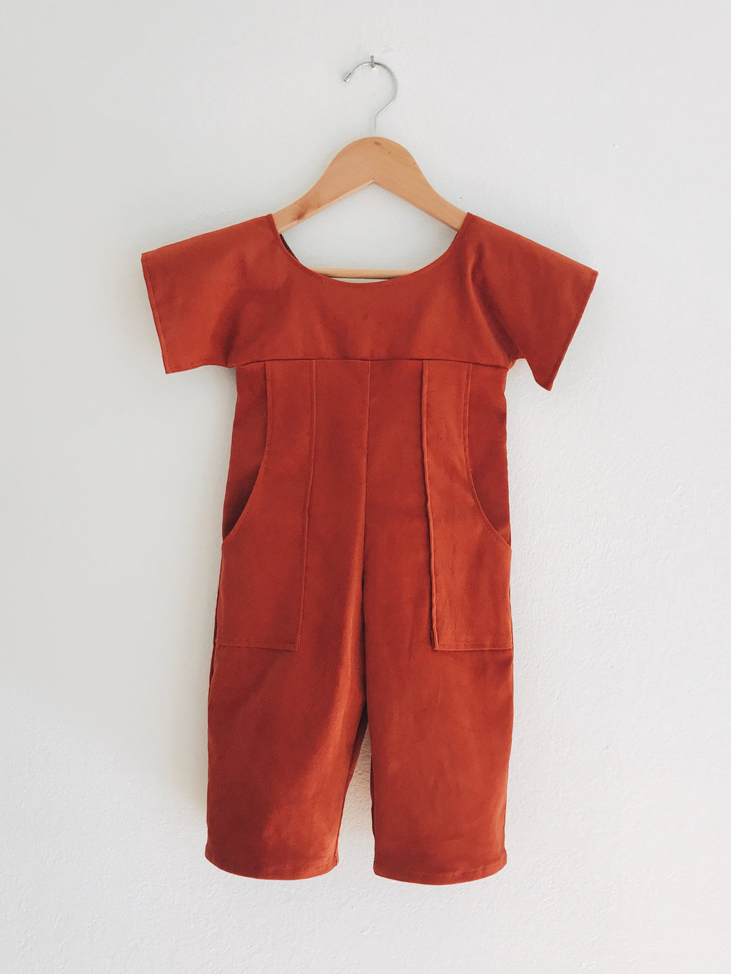Big Kiss Jumpsuit - Rust