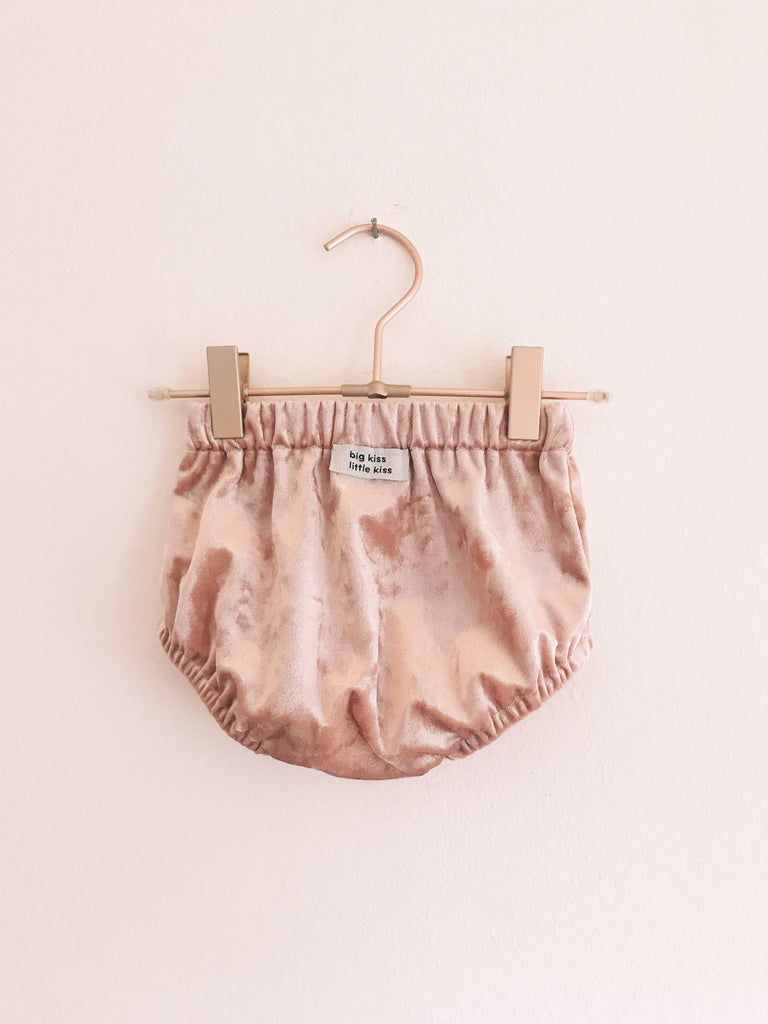 Blush Velvet Bloomers