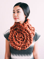 Saga  Scarf - Copper