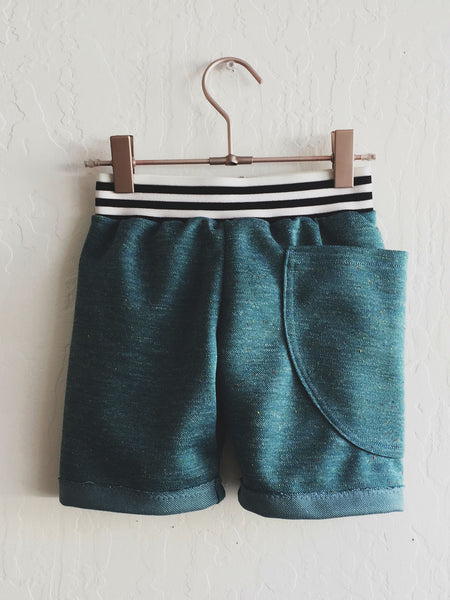 Full Pocket Shorts - Emerald