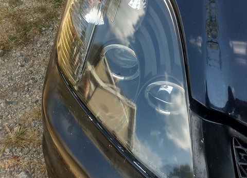 Client Submitted Picture of a Headlight After Restoration