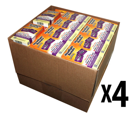 4 Master Carton - 512 Single Sets, Headlights Cleaning and Restoration Wipes. Tariff No. 3405.90.0000