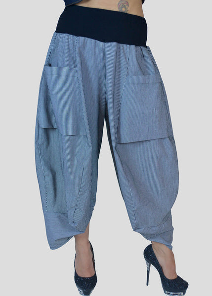 Avivit Yizhar <br> Striped Harem Pants