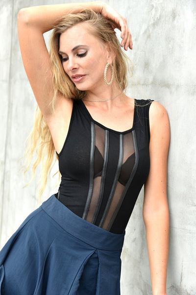 CQbyCQ <br> Sleeveless Bodysuit