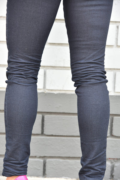 Yoga Jeans <br> High Rise Skinny Jeans