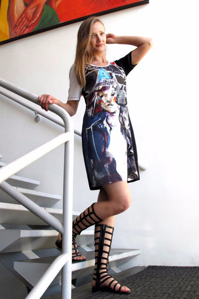 Dolcezza <br> Fashion Print Tunic