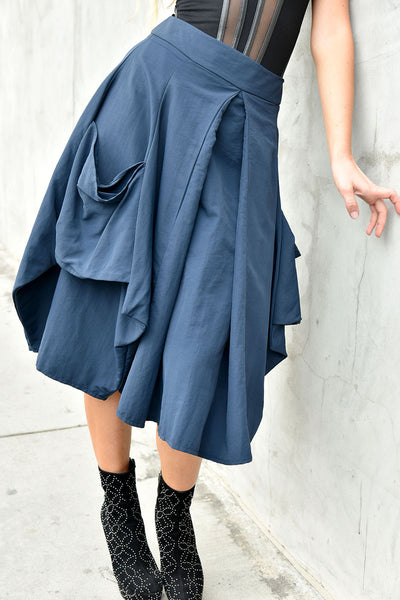 Gr.Dano <br> Navy Bubble Skirt