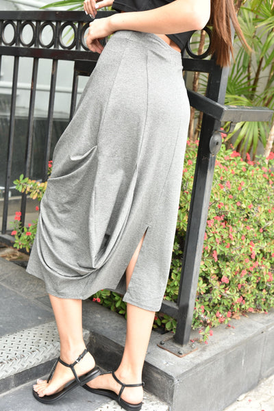 Gr.Dano <br> Jersey Knotted Skirt