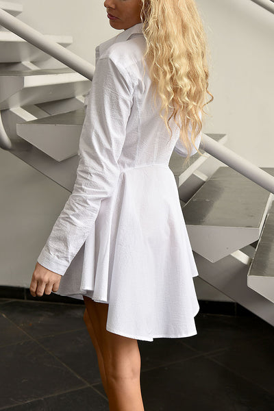 Honey Punch <br> Crinkle Cotton Tunic Shirt