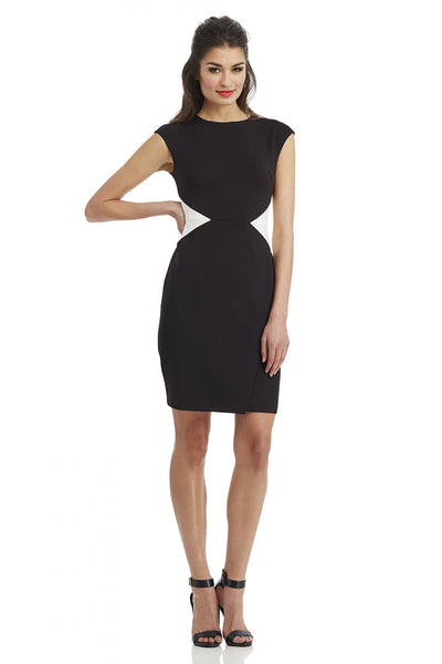 Maggy London <br> Cut-Out Illusion Dress